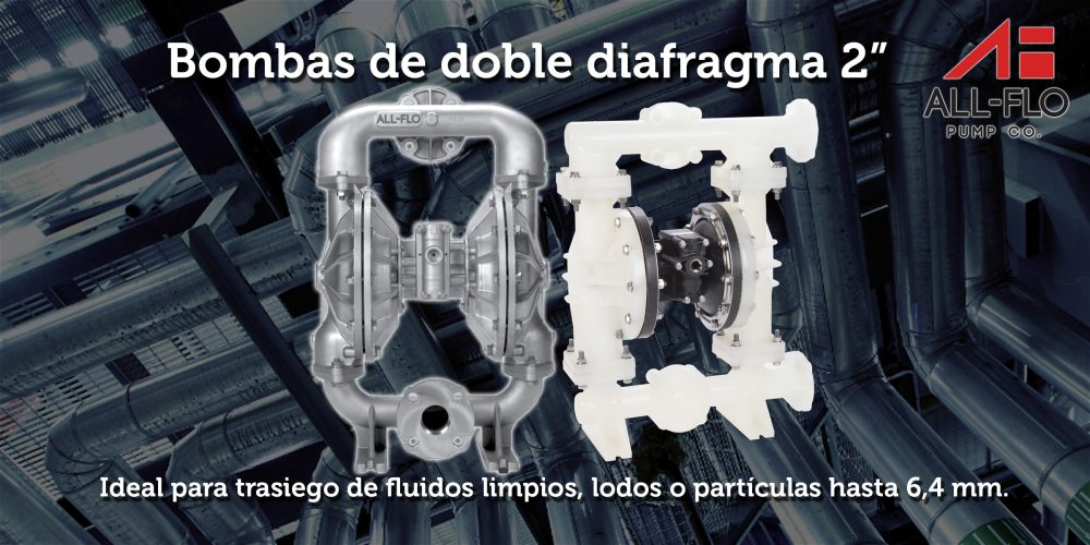 Bombas doble diafragma 6