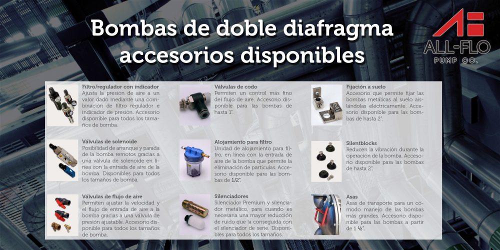 Bombas doble diafragma 8