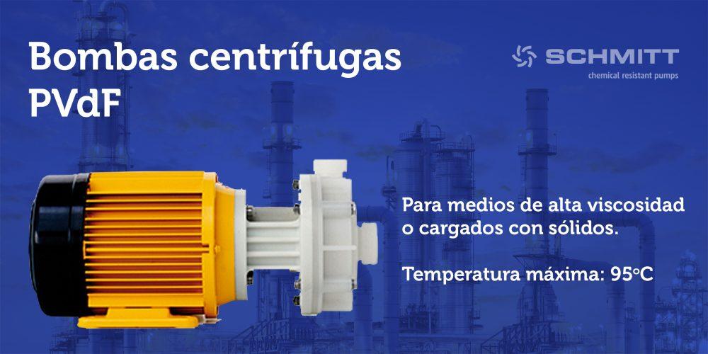 bomba centrifugas PVdF