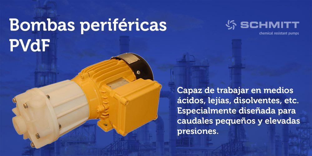 bombas perifericas PVdF
