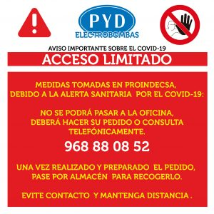 acceso limitado rrss 02 300x300 - Comunicado importante COVID-19