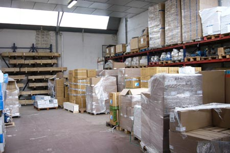 Zona C de almacenaje