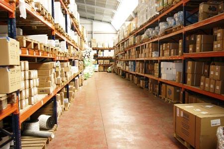 Zona A de almacenaje